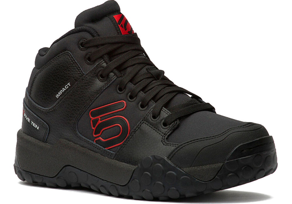 Five Ten Impact High Mountain Biking Shoes Black Red